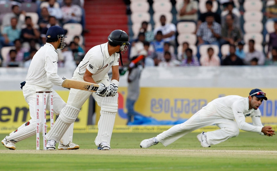 Ashwin also got in on the act and New Zealand have failed to get any sort of partnership on the board since then. Virat Kohli has been in fine catching form. Reuters