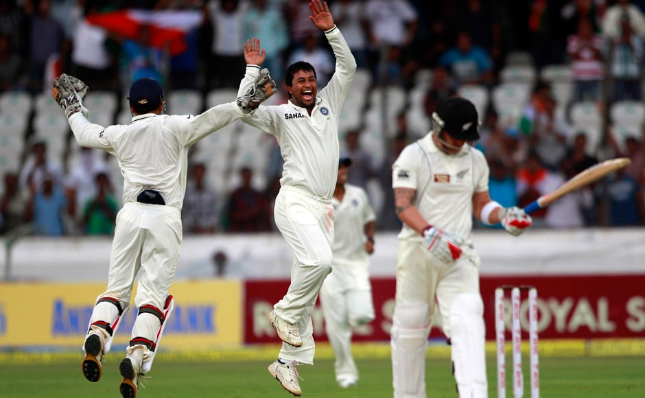 Ojha struck early to deliver NZ a blow and they never recovered from it. AP
