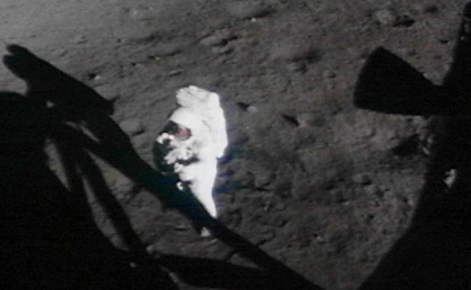 A giant leap for mankind: Neil Armstrong on the moon. Reuters