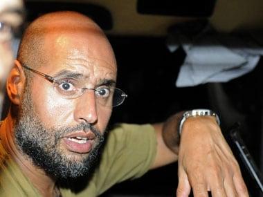 File photo of Saif-Al-Islam. Reuters