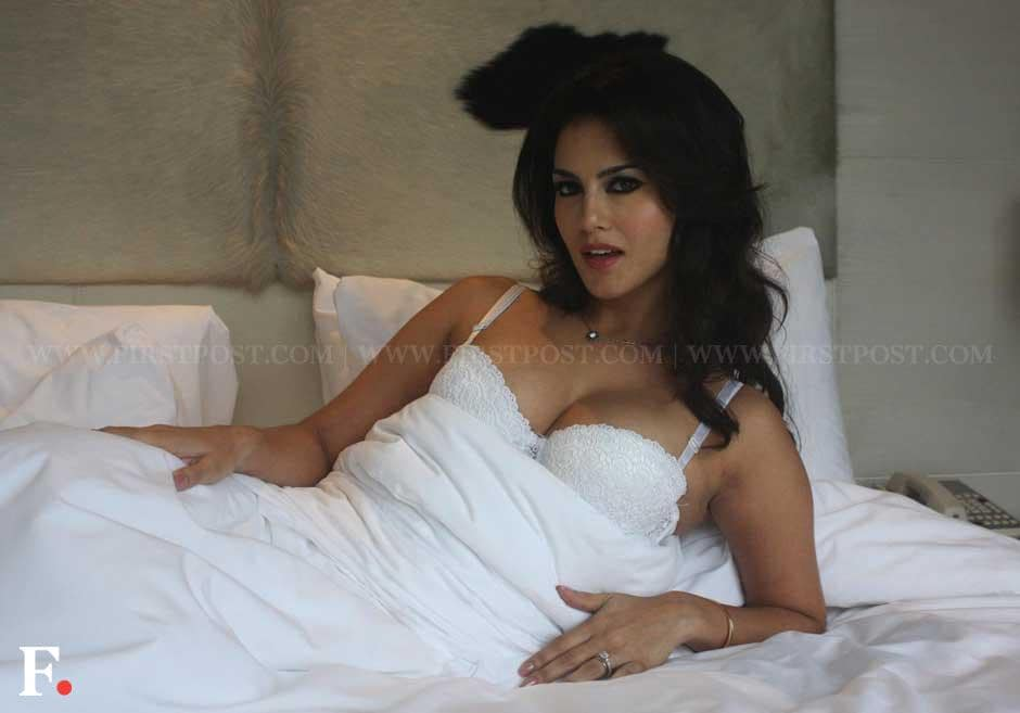 Sunny Leone poses at Le Meridian Hotel in New Delhi while promoting her upcoming film 'Jism 2'. Naresh Sharma/Firstpost