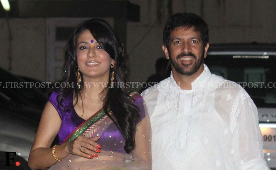Mini Mathur with husband Kabir Khan. Sachin Gokhale/Firstpost