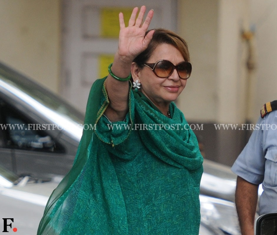 Helen at Salman Khan's residence to celebrate Eid. Sachin Gokhale/Firstpost