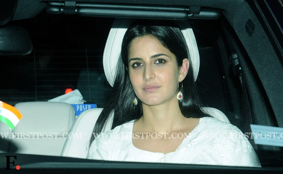 Katrina Kaif celebrates Eid with Salman Khan's family. Sachin Gokhale/ Firstpost