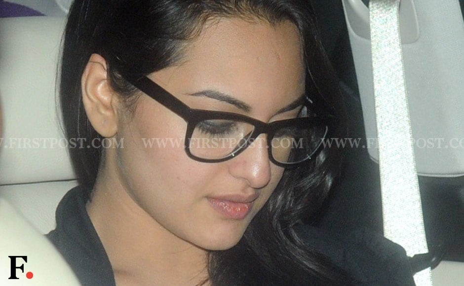 Sonakshi Sinha attends Eid celebration at Salman Khan's house. Sachin Gokhale/Firstpost