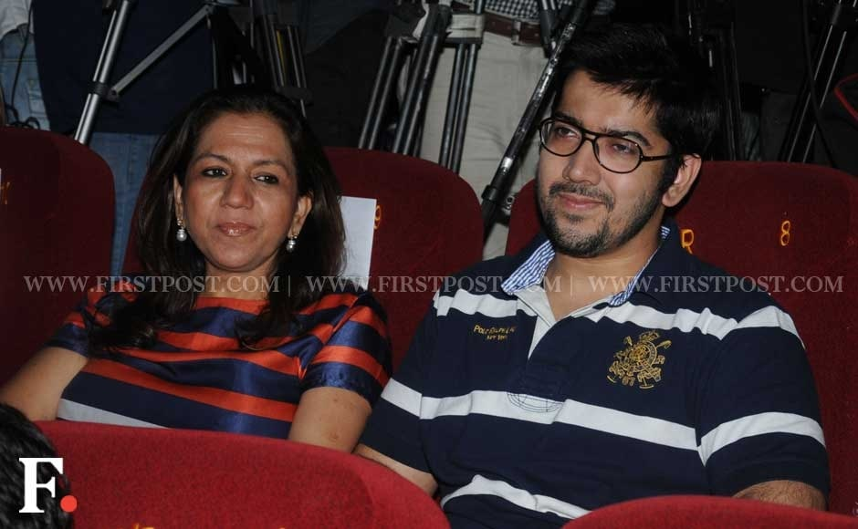 Lali Dhawan and son Rohit Dhawan. Sachin Gokhale/Firstpost