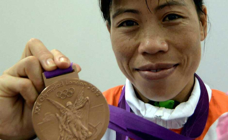 Mary Kom won the bronze medal because in contact sport, both semifinalists are awarded a medal. That however, does not take the shine off it. PTI