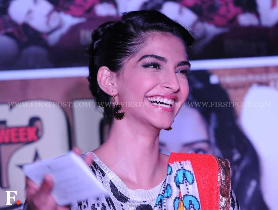 Sonam Kapoor at an event to celebrate the third anniversary of a film tabloid, Star Week. Sachin Gokhale /Firstpost