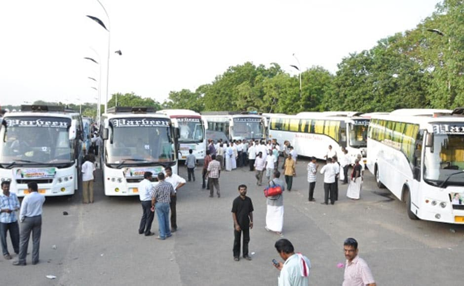 Vaiko is leading the convoy of 41 buses and will reach Sanchi by September 20-21. Firstpost