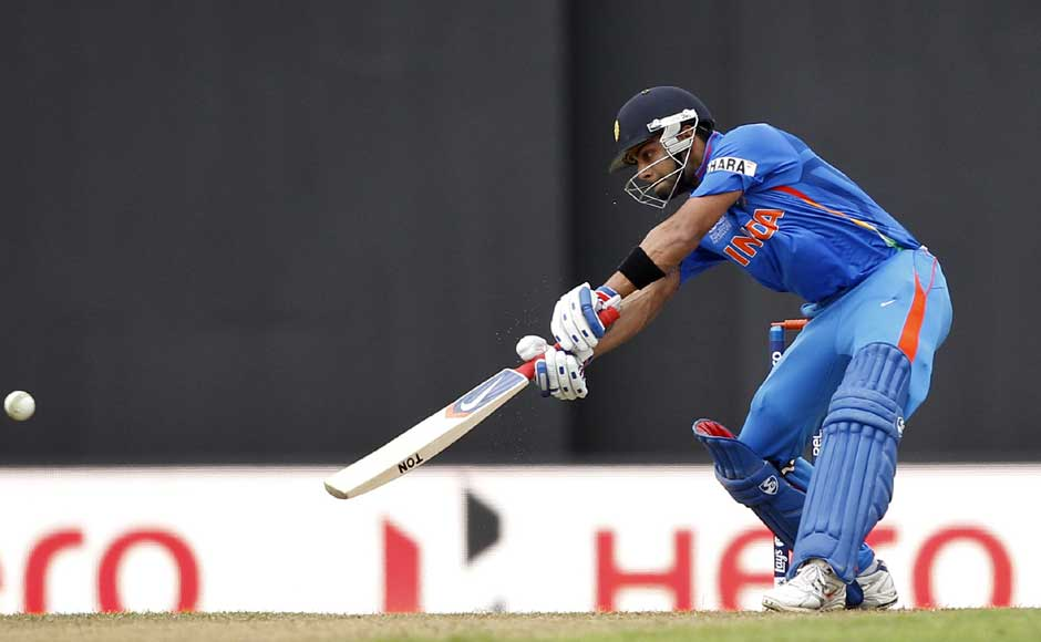Kohli continued his fine form and is clearly one of the most dangerous batsmen in all three formats of the game. AP