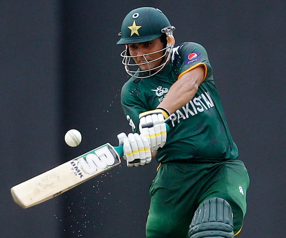 Kamran Akmal came in at a crucial time for Pakistan, and settled down quickly before embarking on a match-winning innings. AP