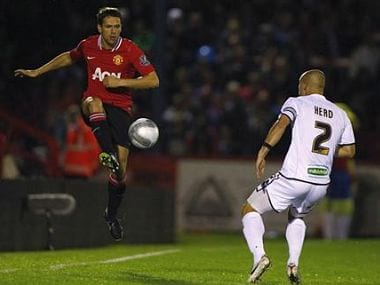 Michael Owen will hope to recapture his old form. Reuters