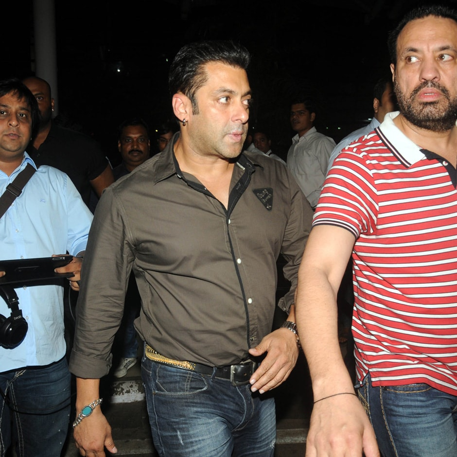 Salman Khan returns to Mumbai. Sachin Gokhale/Firstpost