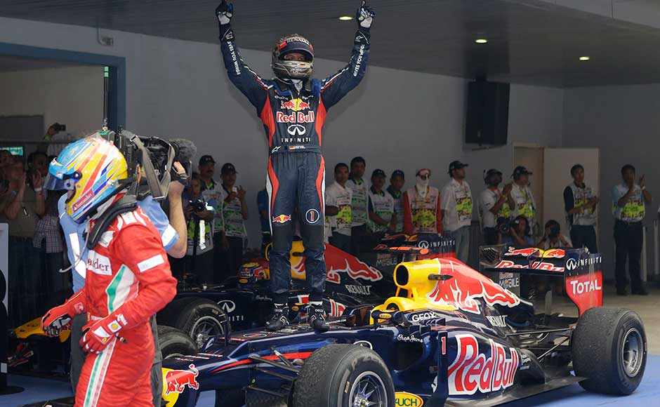 Indian Grand Prix Images: Another F1 masterclass from Vettel