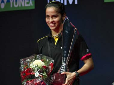 The break has done Saina a world of good. AFP