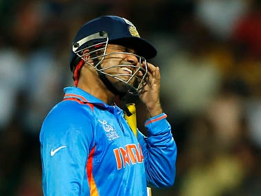 Virender Sehwag needs to get his head back in the game. AP