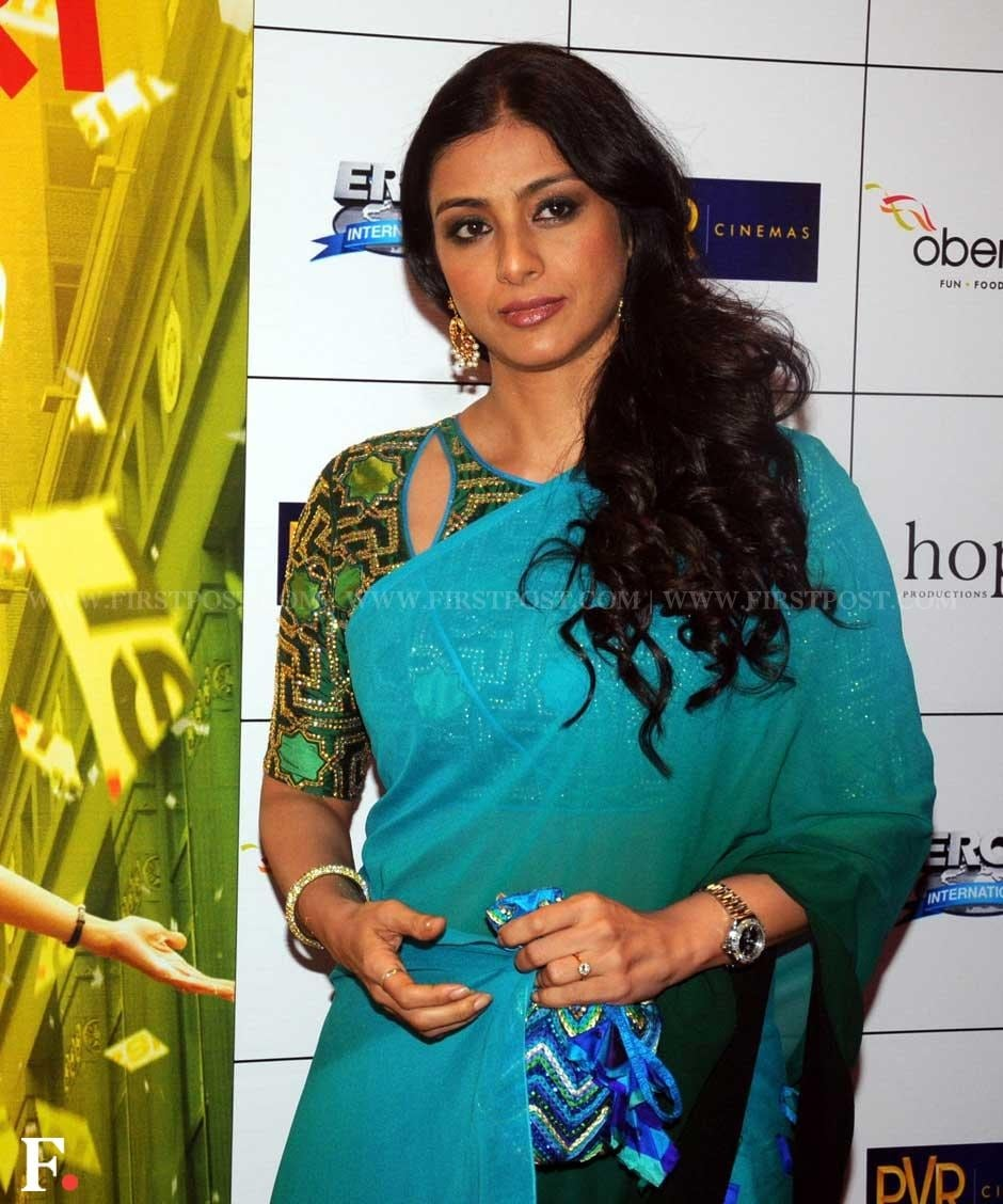 Tabu at the premiere of Sridevi's film English, Vinglish. Sachin Gokhale/Firstpost