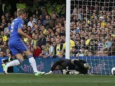 Torres was in superb form for Chelsea once again. Reuters