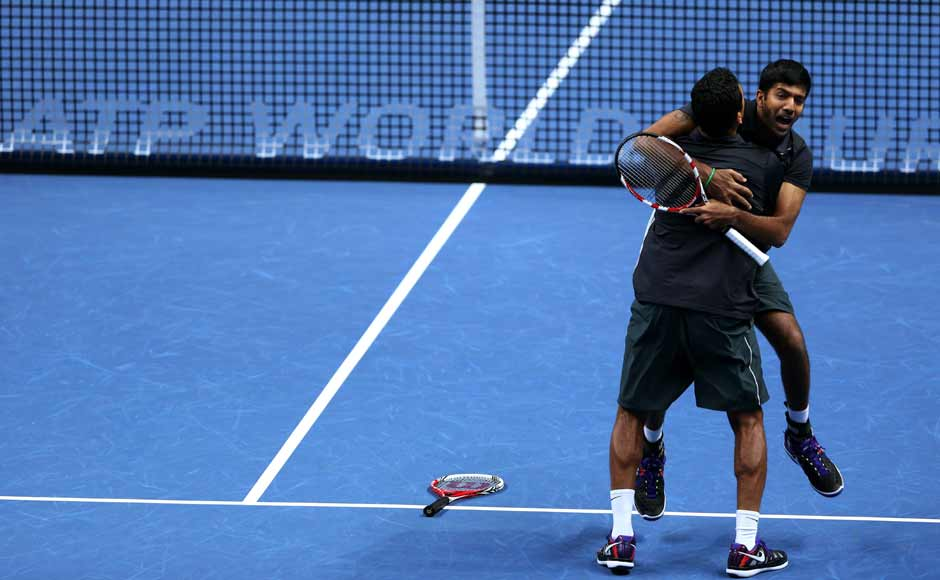 Paes had said that Shanghai final was like a grudge match after the Olympics selection drama when both Bhupathi and Bopanna had refused to pair with him. The celebrations from Bhupathi-Bopanna confirmed that.Getty Images