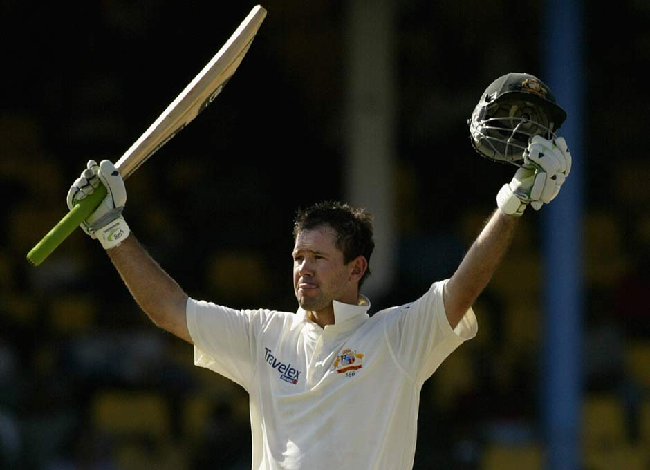 Finally, the double-century came. And it came against West Indies at the Port of Spain in 2003. Ponting spent 491 minutes at the crease — patient if you compare his other big innings. Getty Images