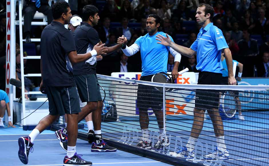 Until next time. The two pairs after the match. Getty Images