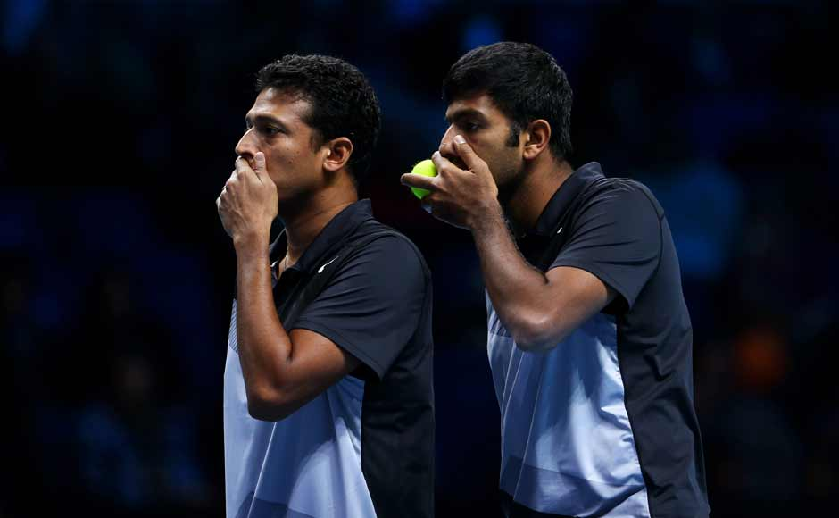 Bhupathi and Bopanna, who are making their debut at the finale as a pair, now have a chance to create history as no Indian has won the year-end championship since Vijay Amritraj's triumph in 1977. Getty Images