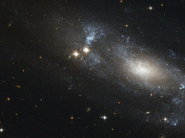 Have scientists found a new spiral galaxy using the Hubble telescope?