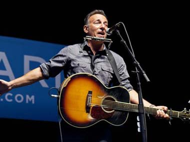 Springsteen, Bon Jovi to have concert for storm victims