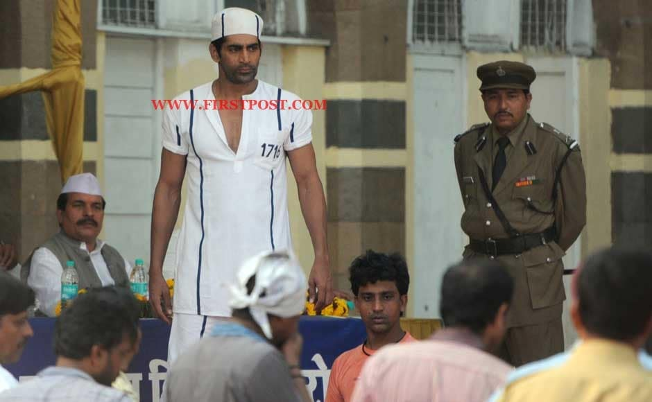 On the sets of Akshay Kumar's upcoming film Khiladi 786. Sachin Gokhale/Firstpost