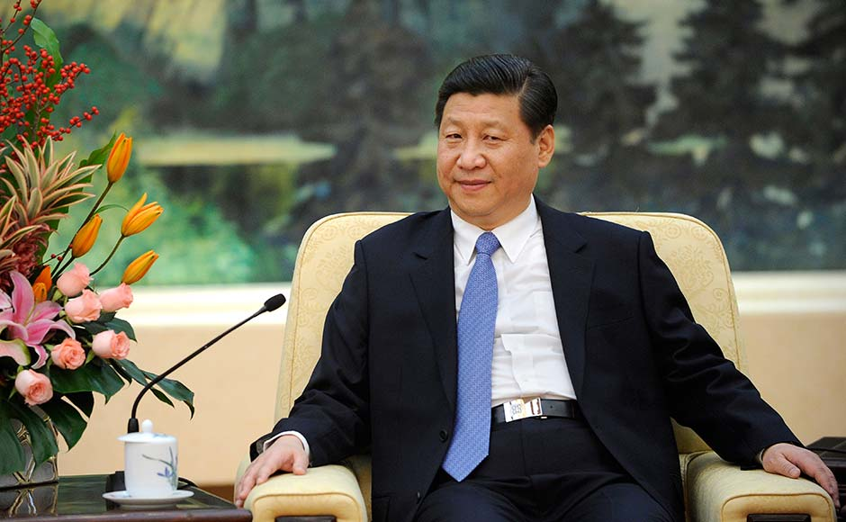 Xi Jinping listens while meeting with Vuk Jeremic, president of the 67th Session of the UN General Assembly, at the Great Hall of the People in Beijing.China's new leader Xi Jinping managed to grab the headlines when he disappeared from the public in September sparking rumours that he was critically ill or worse, dead. His public appearance though put an end to those rumours .  AP