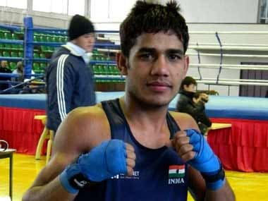 Aman Indora won gold in the Bantam weight category.