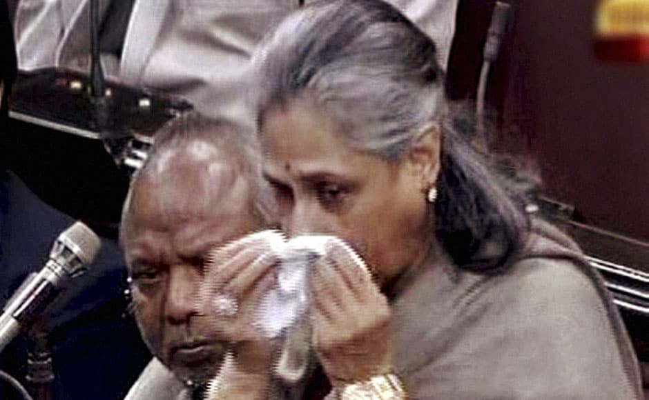 Members of Parliament too put pressure on the government to take strict action against those involved in the crime. Jaya Bachchan broke down while condemning the incident in Rajya Sabha in New Delhi on Tuesday. PTI