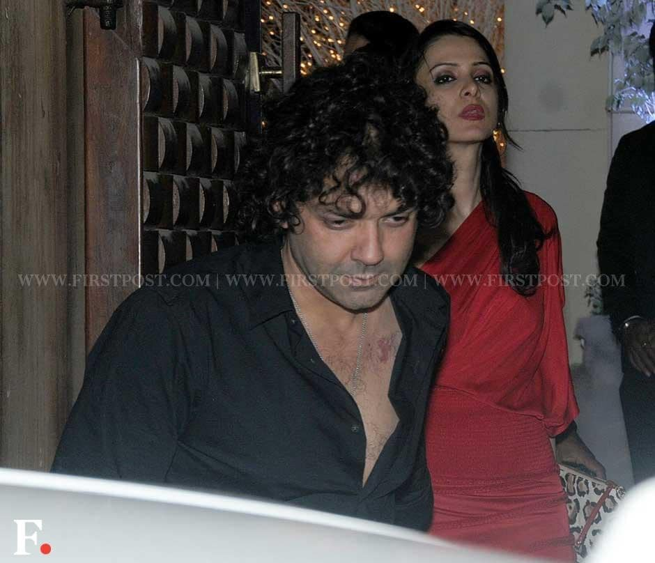 Bobby Deol at businessman Sunny Dewan's Christmas party held at his house in Bandra, Mumbai. Sachin Gokhale/Firstpost