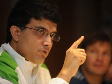 Ganguly feels the time was right. AFP