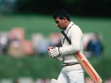 Sunil Gavaskar was a great batsman but India wasn't a great Test team. Getty Images