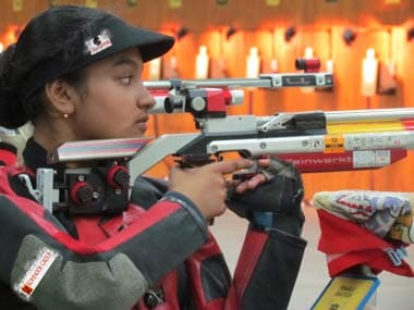 Mampi is the bright new hope for Indian shooting.