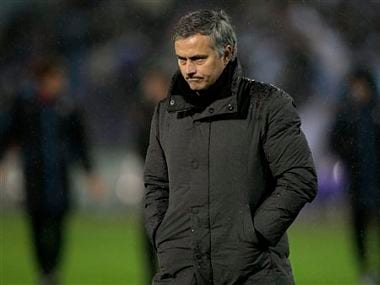 It's all going wrong for Jose Mourinho. AP