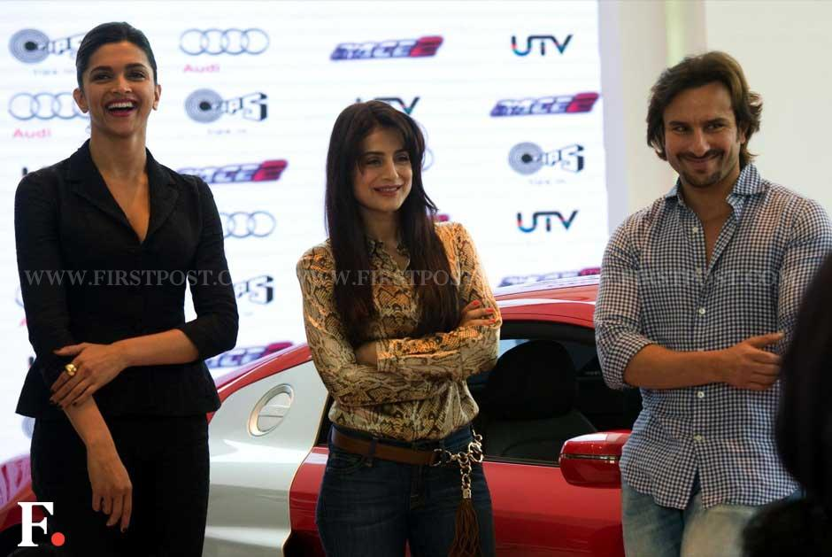 Images: With 'Race 2' star cast, Audi launches updated R8 in India