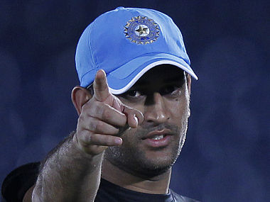 File picture of India's cricket captain Mahendra Singh Dhoni. Reuters