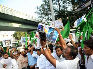 Protests over the film have resulted in a two week ban. Firstpost
