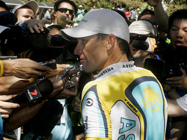 File picture of Lance Armstrong. Reuters