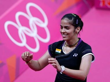 India's Saina Nehwal has risen to second in the world. Reuters