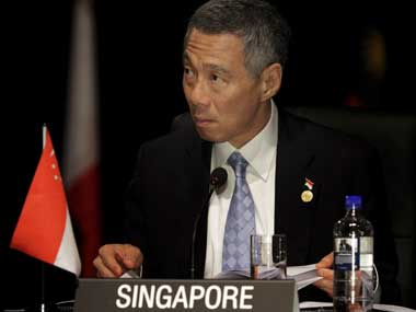 The Singapore Prime Minister: Reuters