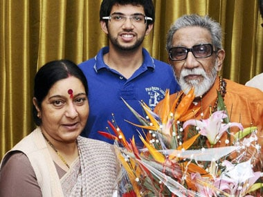 Swaraj was Thackeray's choice as the alliance's prime ministerial candidate. PTI