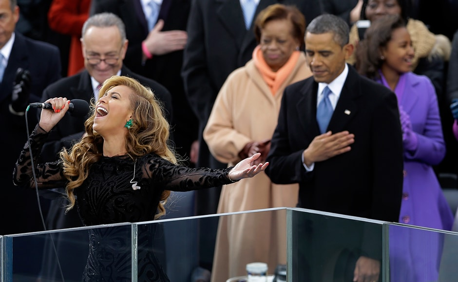 Images: Beyonce brings the house down at Obama's swearing in