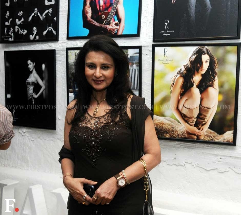 Poonam Dhillon at the annual calender launch of photographer Dabboo Ratnani. Sachin Gokhale/Firstpost