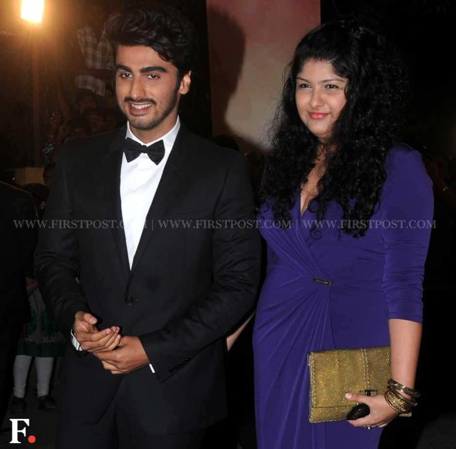 Arjun Kapoor with his sister Anshula Kapoor at the Filmfare Awards ceremony. Sachin Gokhale/Firstpost