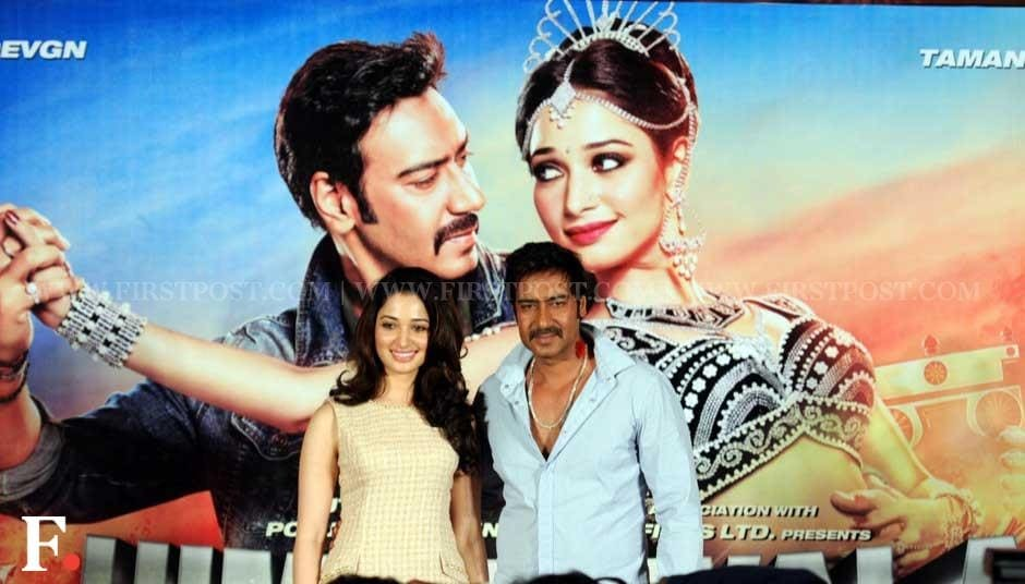 Tamil actress Tamannaah and Ajay Devgn. Sachin Gokhale/Firstpost