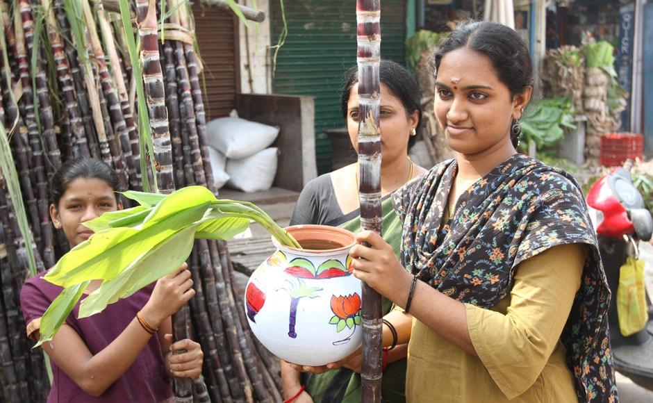 A family gathering pongal essentials. Firstpost