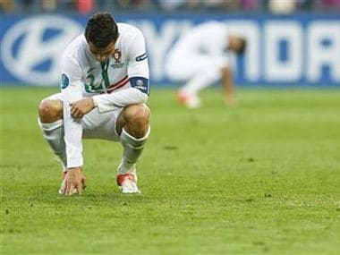 Maybe Ronaldo wishes he was born a different era. Reuters